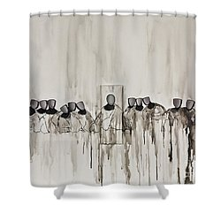 Last Supper Shower Curtain