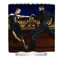 Last Tango In Paris Shower Curtain by Richard Young