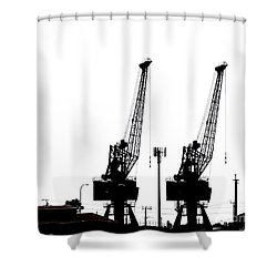 Shower Curtain featuring the photograph Last To The Ark by Stephen Mitchell