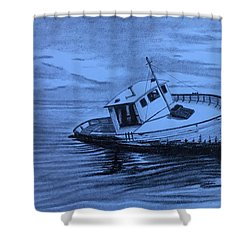 Last Voyage  Shower Curtain