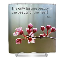 Lasting Beauty Shower Curtain