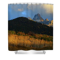 Late Afternoon Light On The San Juans Shower Curtain by Jetson Nguyen