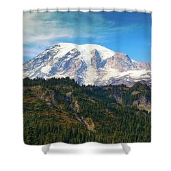 Shower Curtain featuring the photograph Late Afternoon by Lynn Hopwood