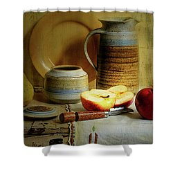 Shower Curtain featuring the photograph Late Day Break by Diana Angstadt