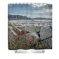 Late Fall Ride Shower Curtain