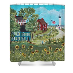 Late July Shower Curtain