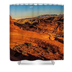 Late Light Shower Curtain