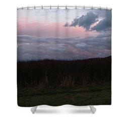 Late Light Shower Curtain by Laurie Stewart