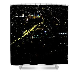Shower Curtain featuring the photograph Late Night In Cuenca, Ecuador by Al Bourassa