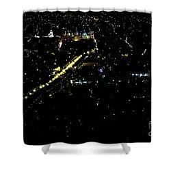 Late Night In Cuenca, Ecuador Shower Curtain by Al Bourassa