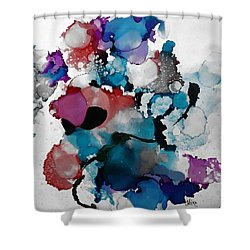 Late Night Magic Shower Curtain
