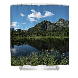 Late Spring Peaks Shower Curtain