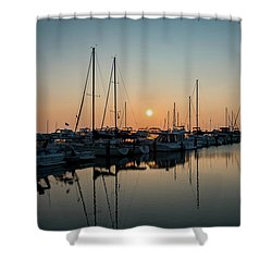 Late Summer Calm Shower Curtain