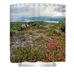 Late Summer In The North Shower Curtain by Maciej Markiewicz