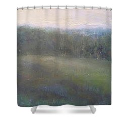 Late Summer Landscape Shower Curtain