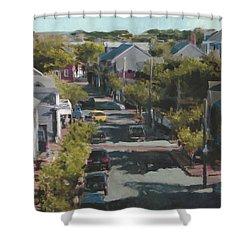 Late Summer Nantucket Shower Curtain