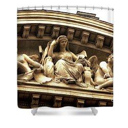 Latin Quarter Ladies Shower Curtain by John Rizzuto