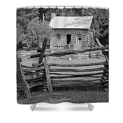 Latta Plantation Cabin Shower Curtain