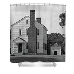 Latta Plantation House Shower Curtain