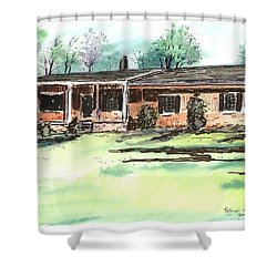 Laura Anne's Place Shower Curtain