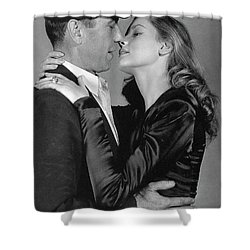 Lauren Bacall Humphrey Bogart To Have And Have Not 1944 Shower Curtain