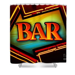 Laurettes Bar Shower Curtain