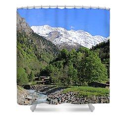 Lauterbrunnen Valley Switzerland Shower Curtain