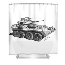Lav-25 Shower Curtain