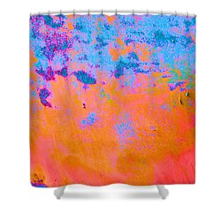 Lava Explosion Shower Curtain by Jan Amiss Photography