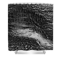 Lava Falls Shower Curtain