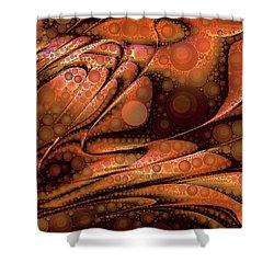 Lava Pop Shower Curtain