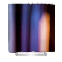 Lavender And Rose Gold No. 2 Shower Curtain
