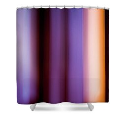 Lavender And Rose Gold Shower Curtain