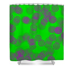 Lavender Bokeh Shower Curtain