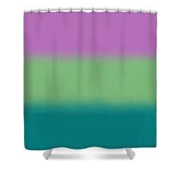 Lavender - Sq Block Shower Curtain