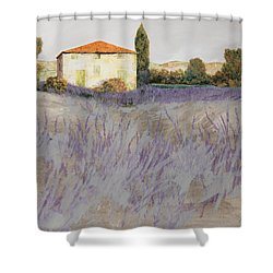 Lavender Shower Curtain by Guido Borelli