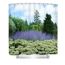 Lavender In The Middle Shower Curtain