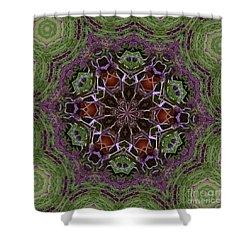 Lavender Mandala 2 Shower Curtain