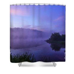 Lavender Mist Shower Curtain by Thomas R Fletcher