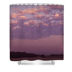Lavender Morning Shower Curtain