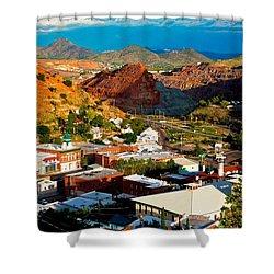Lavender Pit In Historic Bisbee Arizona  Shower Curtain