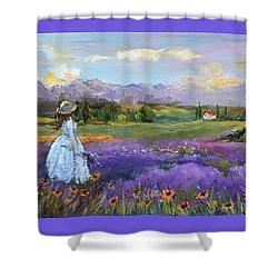 Lavender Splendor  Shower Curtain