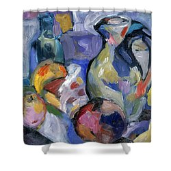 Lavender Stillyf Shower Curtain