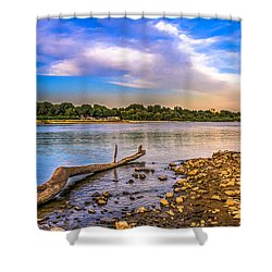 Law Water Vistula River View Shower Curtain