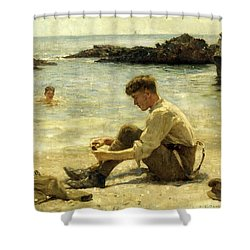 Lawrence As A Cadet  Shower Curtain