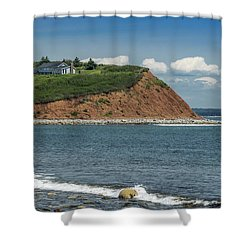 Lawrencetown Shower Curtain by Ken Morris