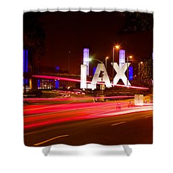 Lax Activity Shower Curtain