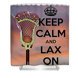 Lax On Shower Curtain