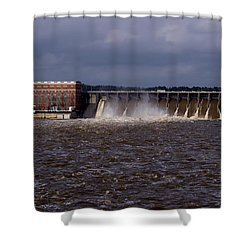 Lay Dam Alabama Shower Curtain
