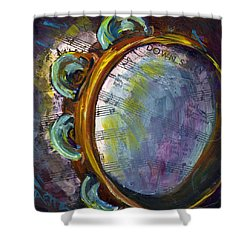 Lay Down Sally Shower Curtain by Raette Meredith